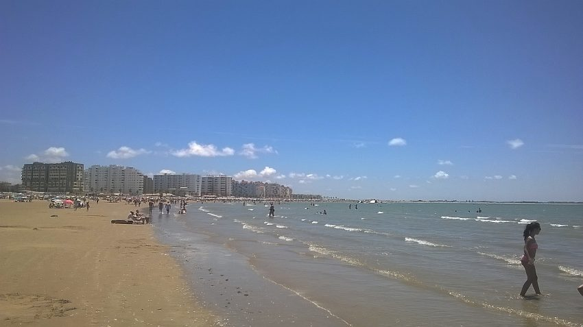 Пляж Valdelagrana