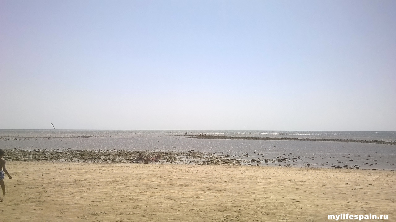 Испания Андалусия ЧИПИОНА пляж de Regla