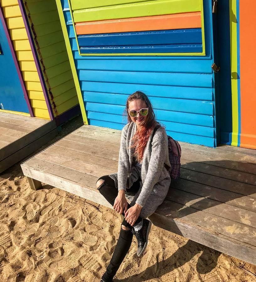 Австралия пляж - Brighton beach