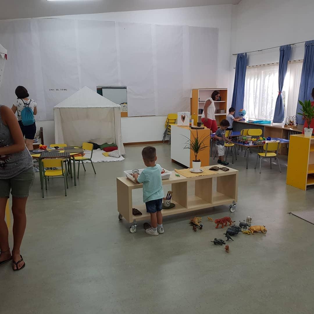 дошкольные учреждения в Испании.