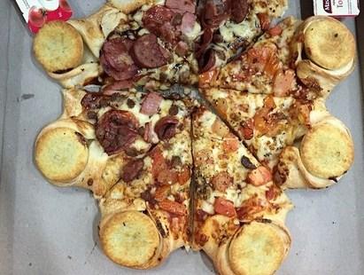 Пицца с мясным пирогом