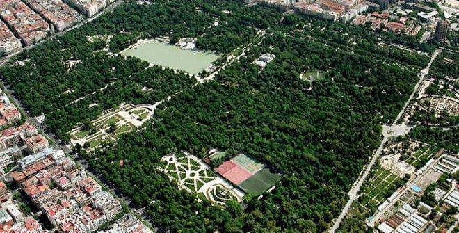 Парк Ретиро Мадрид