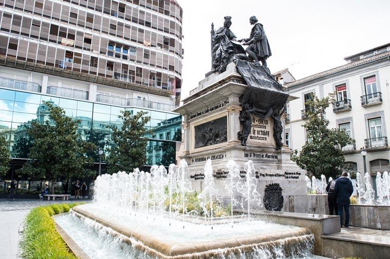 Монумент Изабелле Кастильской и Колумбу