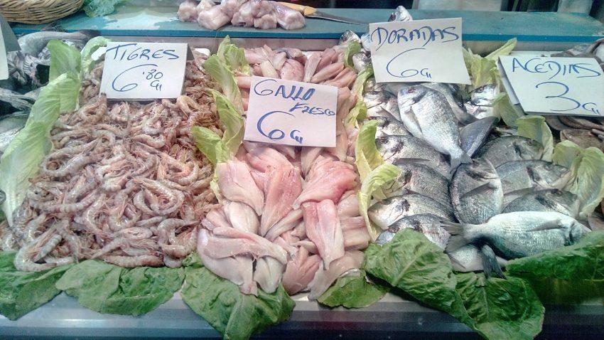 Рыбный рынок в Испании