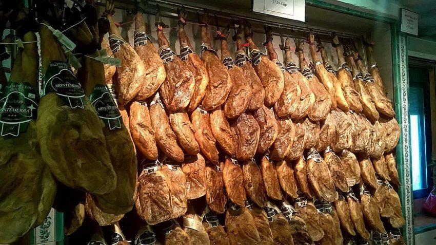 Производство хамона в Испании фабрика Montesierra