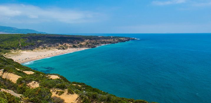 Atlanterra пляж Тарифа Испания